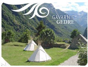 indian teepee accommodation in the hautes-pyrénées
